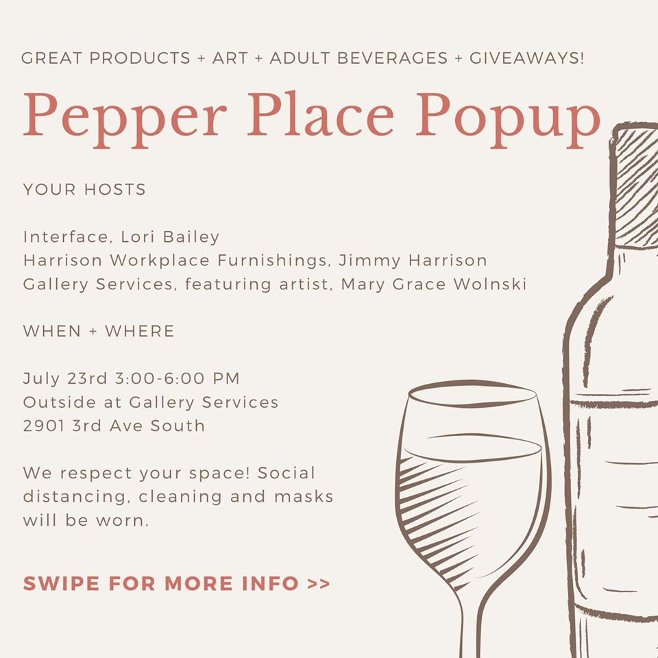 Pepper Place Popup