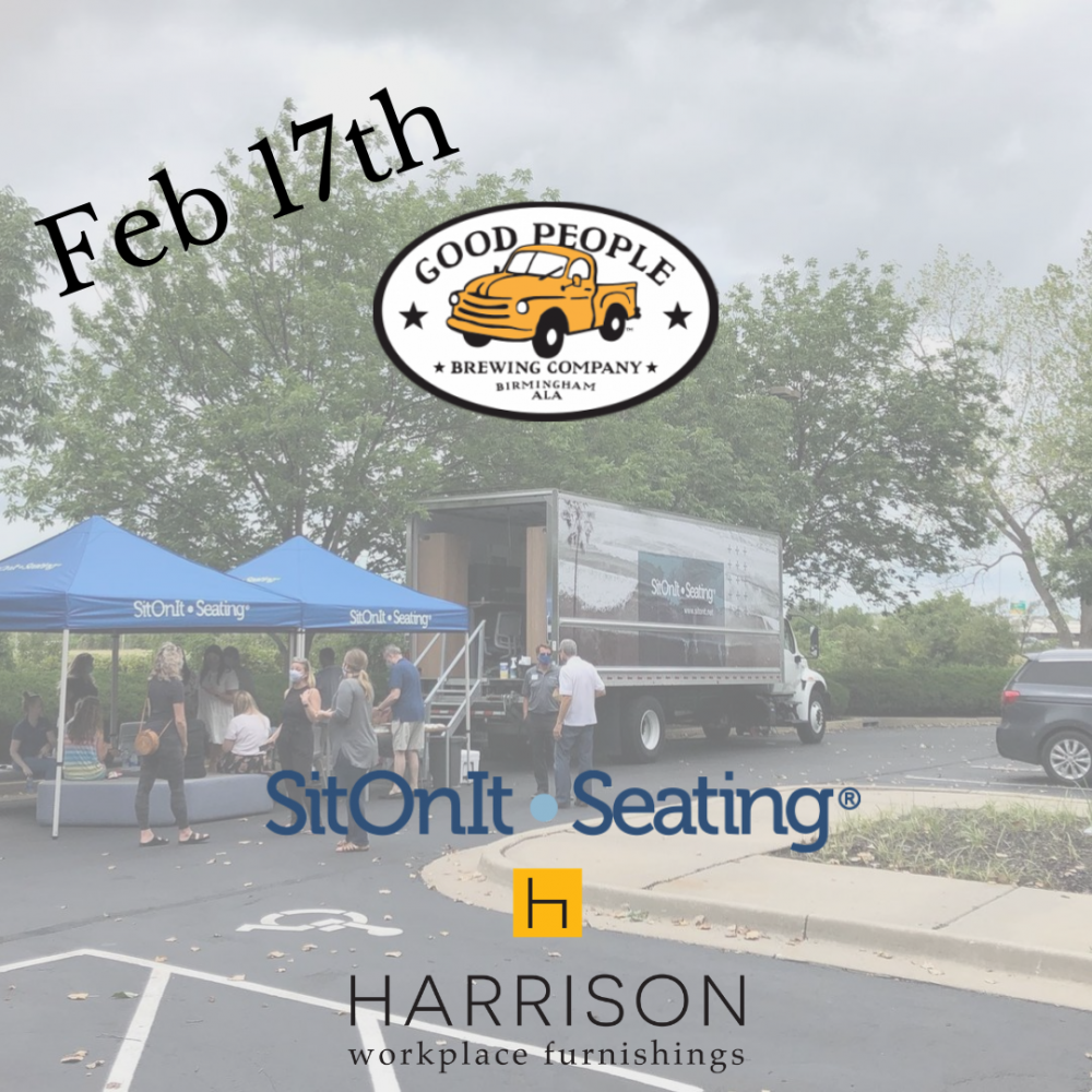SitOnIt Seating Road Show: February 17th, 2PM - 6PM